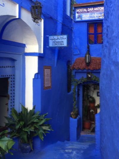 ターキッシュエアラインで行くモロッコの旅8日間-3 青い街シャウエン
