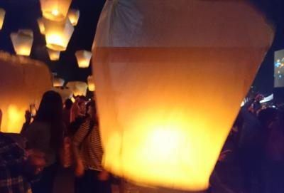 台北と平渓天燈あげの旅1日目