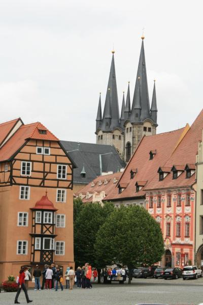 チェコ ドイツとの国境の街ヘプ