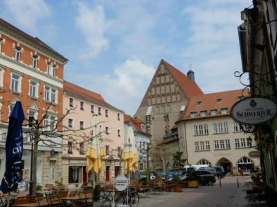 2017GW 初の東ドイツ~プラハ 【54】 マイセンその5 丘から下りて街歩きとランチ