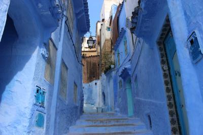 モロッコ① 青い町 シャウエン