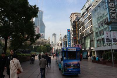 ~上海3泊4日旅行~その3 中国一の繁華街とエンターテインメント