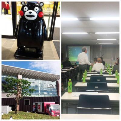 講演で熊本へ。九州新幹線で岡山から熊本まで直通