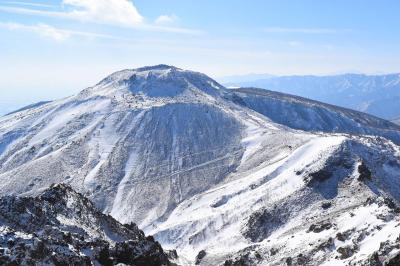 那須岳(茶臼岳~朝日岳) 大丸温泉から日帰り雪山登山