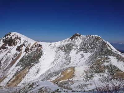 八ヶ岳で雪山登山1泊2日♪