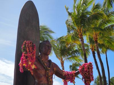 2018年雨季のハワイ 1日目  JALビジネスクラスでいざハワイへ~ホテルはアロヒラニリゾートワイキキビーチ~ビルズでパンケーキランチ~ルースズクリスステーキでディナー