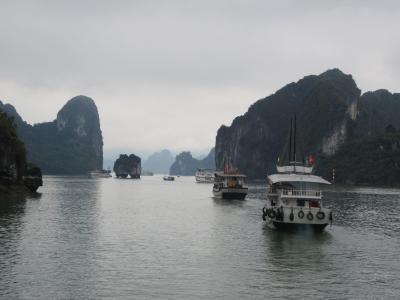 ベトナム縦断の旅 ②ハロン湾クルーズ