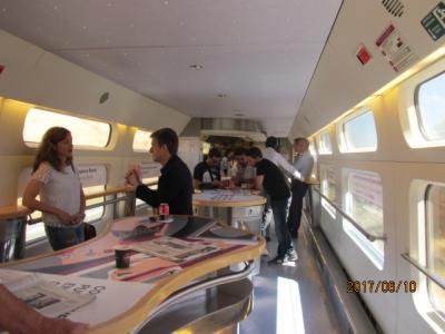 イベリア周遊の旅(120)マドリード駅到着。