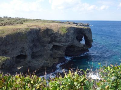 【2018年 沖縄】その5 路線バスで回る沖縄 万座毛から海沿いを歩きたい