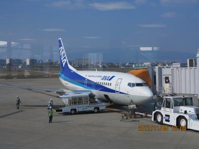 5000マイルで3フライト 岡山発新千歳経由高知行のUA特典航空券でジンギスカンを食べてきました。