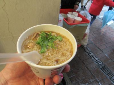 一人でも楽しめる、お祭りづくしの台湾「ランタンフェスティバルと平渓天燈祭」 2の続き
