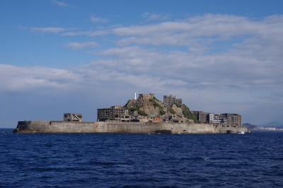 世界遺産の炭鉱の島「軍艦島」(後編)。晴天に恵まれた冬の日、我、上陸せり。