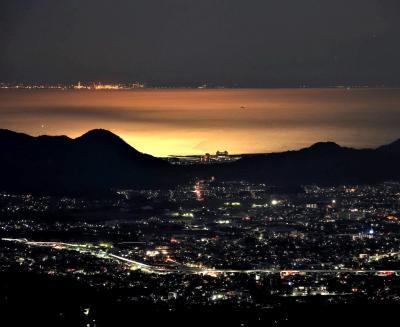 夜中に箱根・玄岳に行ってみた。