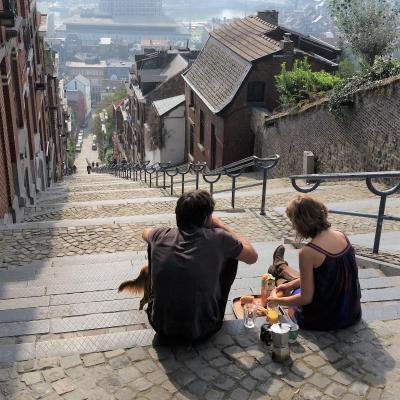 終【11】人生の中で一番なが~い階段☆ベルギー:リエージュ(ヨーロッパ周遊6ヵ国)