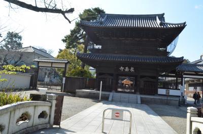 泉岳寺と早稲田の穴八幡