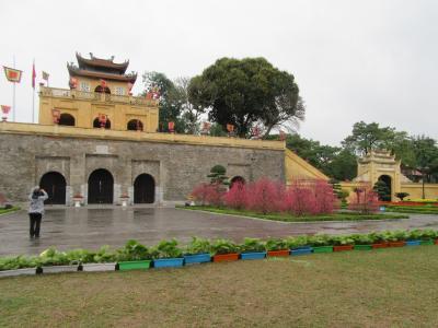 ベトナム縦断の旅 ③ハノイ城(タンロン城)
