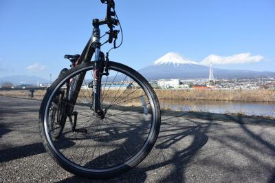 自転車でGO! 2018.02.11 富士山を見ながら市内南西部をウロウロ…