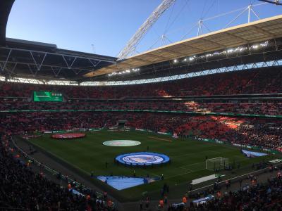 イギリス 2017-2018カラバオ杯(リーグカップ)決勝戦 マンチェスターC vs アーセナル in ウェンブリースタジアム観戦