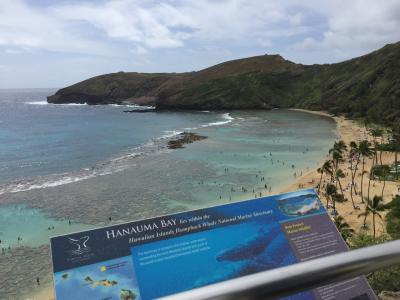 5度目ハワイ2018家族記念旅2日目~ハナウマ湾は寒かった