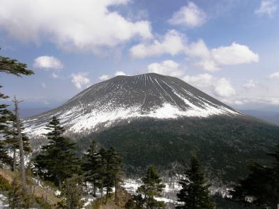 積雪期の浅間山の外輪山・黒斑山に登ってきました