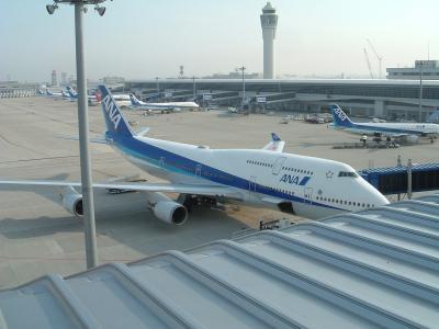こんな時代もあったんだ!中部国際空港にANAのB747-400やいろんな機材が大集合!!