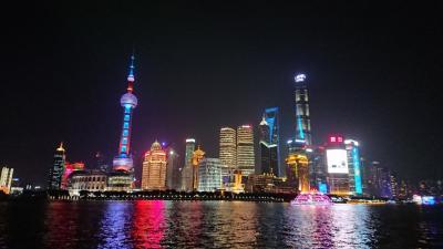 中国(上海)トランジット7時間…夜の外灘と豫園観光
