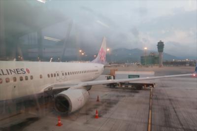 狗年好運旺旺來!5ヶ月の娘と元宵節の高雄4★中華航空で高雄から香港へ
