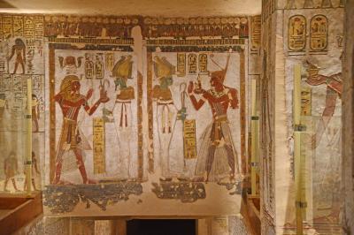 2018冬のエジプト旅行(3)-ルクソール西岸其の1(王家の谷)