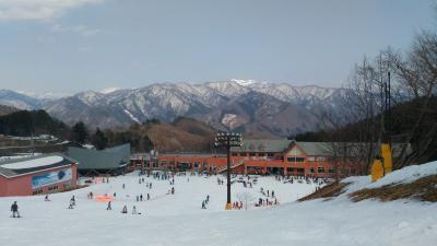 青春18きっぷで行くノルン水上スキー場でスノーボードを楽しむ旅♪