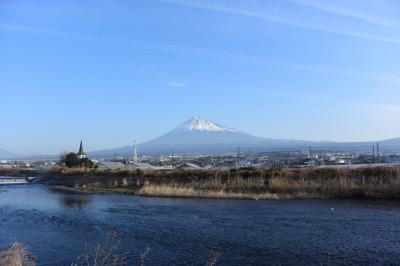 散歩 =富士山を見ながら… 2018.02.20=