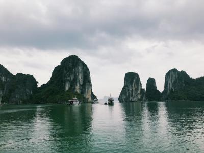 初ベトナムひとり旅・3 ハロン湾ツアーコース