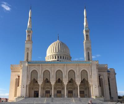 早春のアルジェリアへ④ 待ってましたモスク!