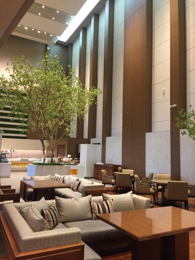 関西⑤3日目 大阪マリオット都ホテル 高層階(プラチナチャレンジ)