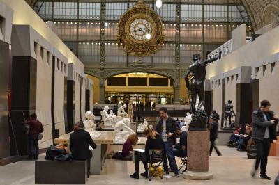 【列車で紡ぐヨーロッパ周遊】(03-3)オルセー美術館夜間開館とディナー