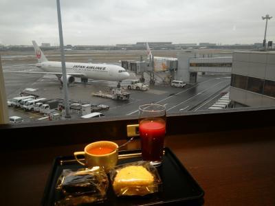 ただ今、JALで移動中(*^-^*) 第四十三弾>>>>冷たい雨の羽田空港を後にして福岡へ移動です!!そして福岡の休日を美味しく、のんびり!!o(^-^)o