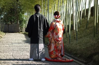 娘の花嫁姿を撮ってきました