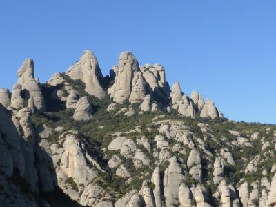 モンセラット山、バルセロナ日帰り旅行、黒いマリア様