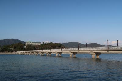 すぐれたる海のながめは蒲郡 三河湾・竹島