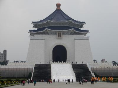 台湾初心者向け 親子3人で台湾初旅行 4日目 中正記念堂 西門紅樓 金龍餐廳で昼食 帰国へ。