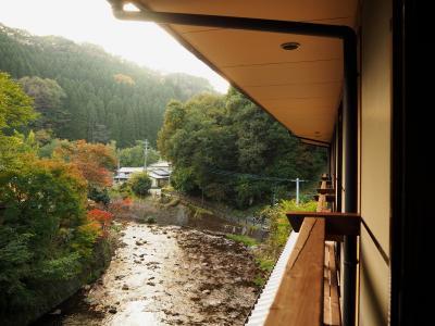 2016年11月、やまびこ旅館に宿泊(部屋の様子②りんどうからの眺めなど)