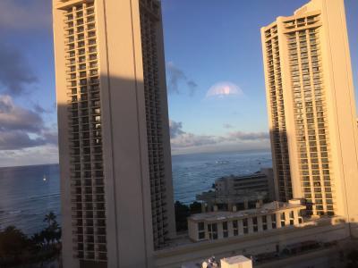 ハワイでのんびり 1日目