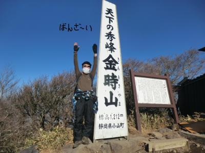 山旅紀行‥箱根外輪山 金時山・その2.天下の秀峰「金時山」を登頂!そして夜は女性トラベラーと密会。