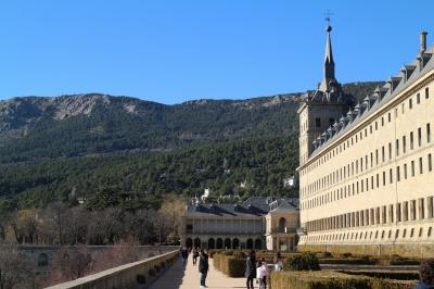 年末のマドリード旅行 その4 マドリードからエル・エスコリアル修道院への日帰りトリップ