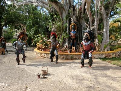 マヤ文明のピラミッドが見たくてwww メキシコに行ったらリゾートだった(笑) その2