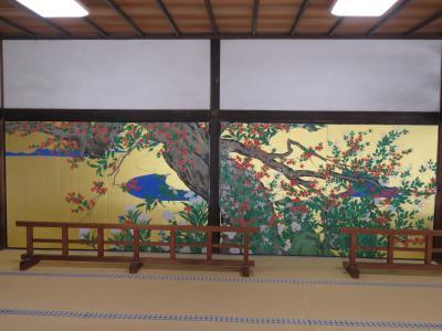 3月中旬の京都の旅(7)-智積院の長谷川等伯の国宝画ー