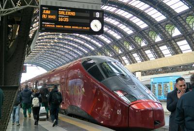 ミラノから高速列車italoでフィレンツェへ その1