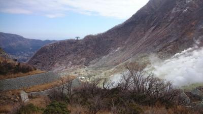 神奈川県 小田原に用事ついでで箱根旅行 (4-1) 雄大な大涌谷