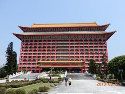 圓山大飯店(グランドホテル)に泊まる