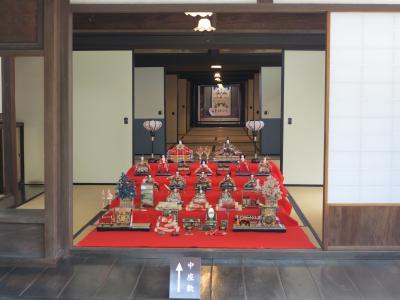 旧野崎家住宅の雛祭り (「たい暇堂」を含む)
