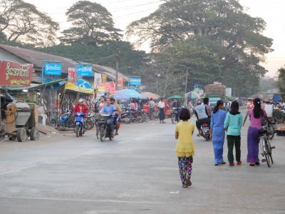ミャンマー自転車旅その1-ヤンゴンから北へ出発